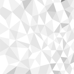 seamless white polygon vector