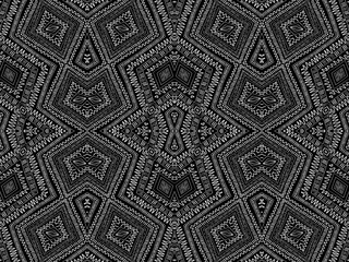 Background tribal native ethnic black white texture 4