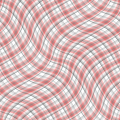 Design seamless colorful waving pattern