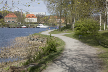 Djurgarden Island Park; Stockholm