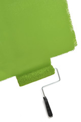 Paint Roller Painting Wall