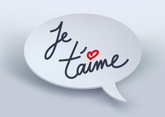 je t'aime - déclaration - amour - amoureux - cœur -message - aimer