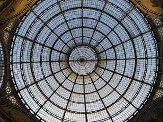 Dome of Galleria Vittorio Emmanuelle