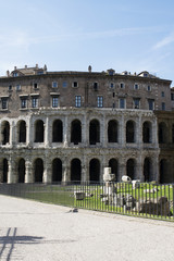 open-air Marcellus Theatre in Rome