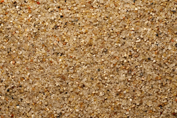 Sand Oberfläche - Makro
