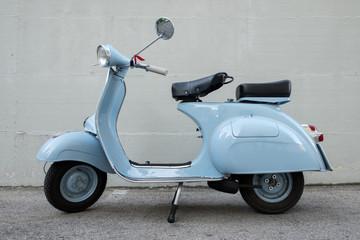 Fotorolgordijn Scooter Vespa Piaggio 1962