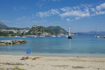 Greece - Parga - Valtos Beach - Ionian Sea