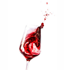 swirl red wine