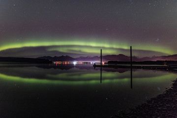Reflections on an Aurora