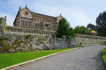 The Sobrellano Palace (Palacio de Sobrellano) in Comillas,  Cantabria, Spain