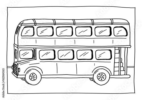 Ausmalbild Bus Stockfotos Und Lizenzfreie Bilder Auf Fotolia Com