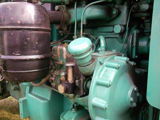 Der Traktorenmotor