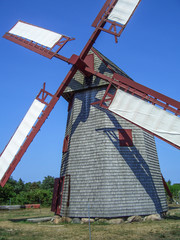 Windmill on Nantucket Massachusetts