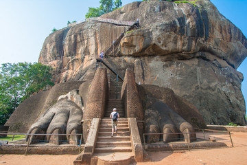 Sigiriya Rock Fortress 5 Century Ruined Castle That Is Unesco Listed As A World Heritage Site In Sri Lanka