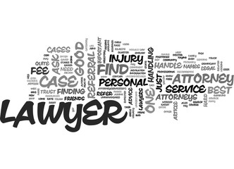 WHERE TO FIND THE BEST LAWYERS TEXT WORD CLOUD CONCEPT