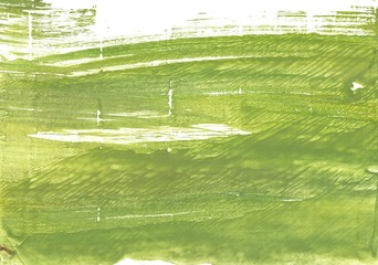 Moss green abstract watercolor background