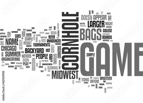 """""""WHY IS THE MIDWEST CRAZY FOR THIS BACKYARD GAME TEXT WORD ..."""