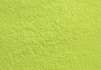 Background of green powder