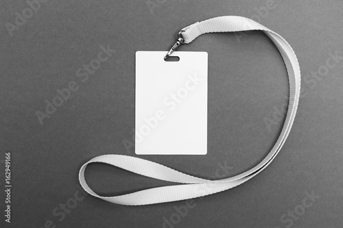 lanyard and badge conference badge blank badge template with white