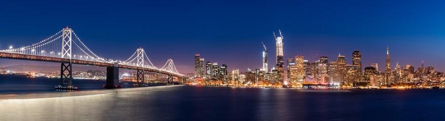 San Francisco Skyline Panoramic