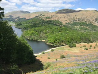 Grasmere by Windermere Lake in Lake District, Cumbria, North West England, United Kingdom