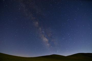 Dünyamızdan Saman Yolu Galaksisi