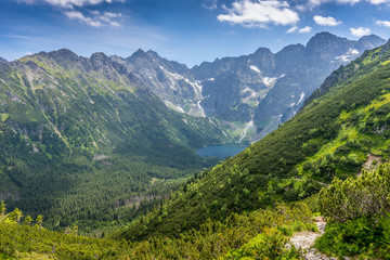 Obraz Tatra mountains landscape, Morskie Oko - fototapety do salonu