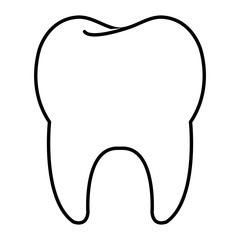 clean tooth isolated icon vector illustration design
