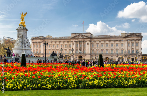 """Buckingham Palace in London, United Kingdom."" Stockfotos ..."