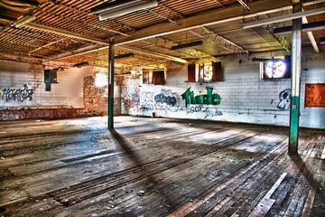 Abandoned Cotton Mill, Remerton, GA Wall mural