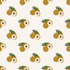 Seamless background image colorful tropical fruit longan