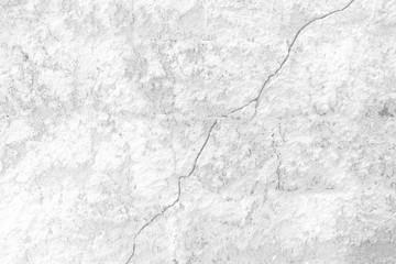 White Broken Concrete Wall Background.