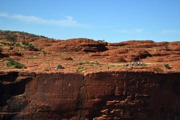 Kings Canyon (Wattarka National Park). Not far from Uluru, Australia