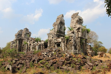 Cambodia . Phnom Bok Temple . Siem Reap Province . Siem Reap City .