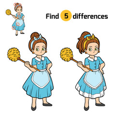 Find differences, Maid