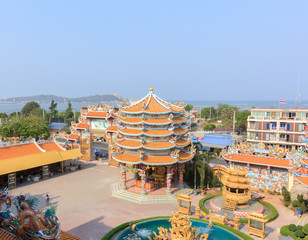 Beautiful Chinese temple in Thailand