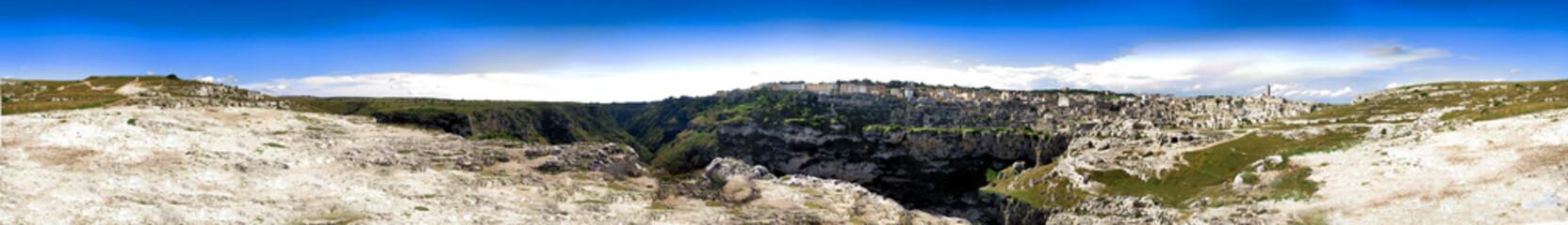 Panorama Italy -  Basilicata -  Matera