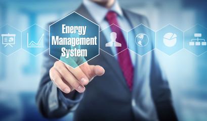 Energy Management System / Businessman