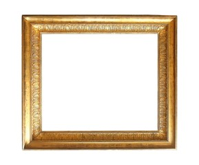 Gold frame for paintings, mirrors or photos