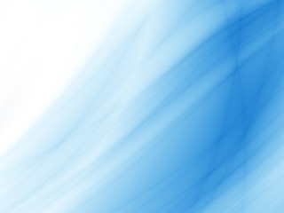 Blue sea wave abstract card background