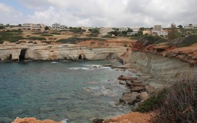 Sea Caves, Cyprus