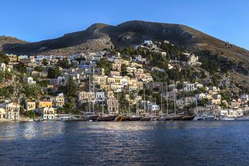 Śliczna wyspa grecka Symi