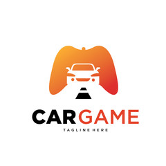 Car Game Logo Template Design Vector, Emblem, Design Concept, Creative Symbol, Icon