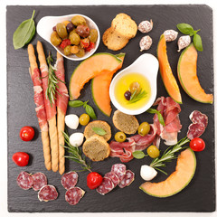 antipasto italian snacks