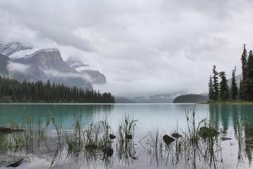 Spirit Island, Maligne Lake, Jasper, Canada