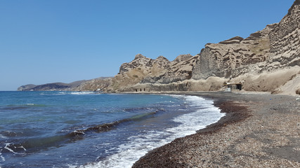 Vlichada Beach, Santorini, Greece