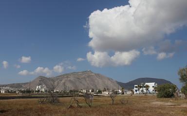 Perissa, Santorini, Greece