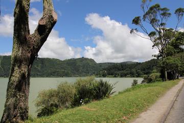 Lagoa das Furnas, Sao Miguel, Azores, Portugal