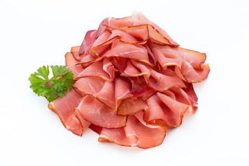 Ham sausage.