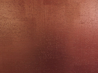 Red Copper Background Texture With Wooden Sawdust Particles Like Scratches Brush Painted Wood Surface